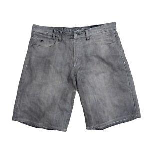 Ripcurl Men's Grey Denim Shorts Size 32