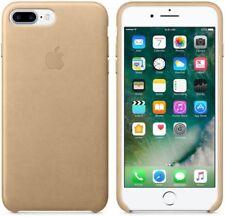 Genuine Apple iPhone 8 Plus / 7 Plus Leather Back Cover Case - Tan