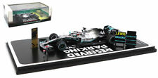 Spark S6099 1/43 2019 MERCEDES W10 Lewis Hamilton P2 USA GP World Champ Special