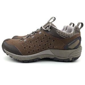 Merrell Avian Light Leather Walking Hiking Trainers Shoes Women's US 7