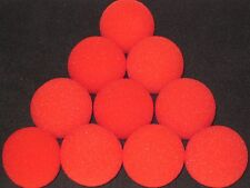 "Sponge Balls 2"" Magic Tricks - 10 Goshman Super Soft, Close Up Production Street"