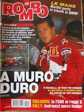 ROMBO 25 1999 Esclusivo Ferrari F399 ai raggi X - Rally Andreucci nuovo leader