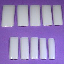 Lot de 500 Ongles Faux-ongles Français Conseils Art Faux Manucure Gel UV Clous