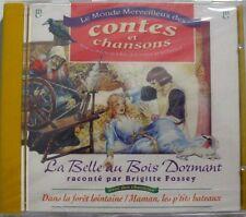 BRIGITTE FOSSEY (CD) LA BELLE AU BOIS DORMANT - NEUF SCELLE