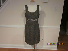 nwt boston proper jeweled&textured sheath dress size 6 sold out  #640