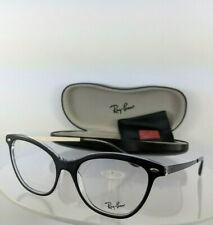 7ce9067d0a0 Brand New Authentic Ray Ban Eyeglasses RB 5360 2034 54mm Black Frame RB5360