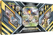 Pokemon TCG Mega Beedrill Ex Premium Collection Box Incl 6 booster packs + more