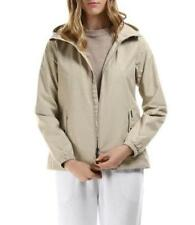 Woolrich John Rich Bros $260 NWT Small Allover Amber Jacket Sand Dab Beige New