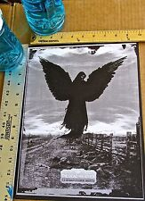 Dead Weather Poster Reprint for  2009 Manchester UK  Concert 14x10 Unsigned