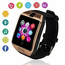 Q18 SMARTWATCH SIM CARD ANDROID IOS BLUETOOTH CAMERA NFC MONTRE INTELLIGENTE OR