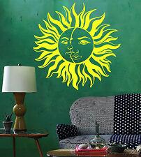 Vinyl Wall Decal Sun Moon House Interior Room Decoration Stickers (ig4472)