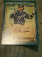 2020 Topps Gypsy Queen Autograph Keston Hiura Auto /150 Brewers