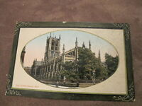 Early Yorkshire postcard - Holy Trinity Church - Hull