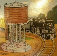 Vintage Bachmann Plasticville 1615 O & S Scale RAILROAD WATER TANK Original Box