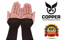 Wrist Brace Sleeve By Copper Compression Gear - RELIEF For Carpal Tunnel RSI ...