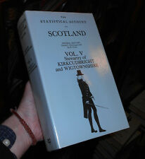 The Statistical Account of Scotland - Vol V - Kirkcudbright & Wigtownshire 1983