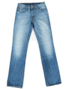 2.Wahl Nudie Herren Regular Fit Jeans   Slim Jim Electric Indigo   W30 / W31 L34