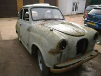 1955 austin a30 seven barn find restoration project