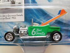 JOHNNY LIGHTNING - SURF RODS - 6 FOOT SWELLS - '23 T-BUCKET HOT ROD - DIECAST