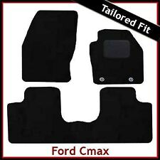 FORD C-MAX Mk2 2011 onwards Tailored Carpet Car Floor  Mats BLACK