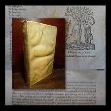 CONCIONES sive ORATIONES ex GRAECIS LATINISQUE - 1570 GRIEGO ANTIGUA PERGAMINO