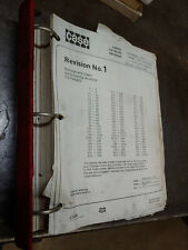 CASE 680E CONSTRUCTION KING LOADER BACKHOE SERVICE MANUAL W/ REVISION