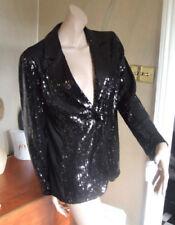Sequin Button Coats & Jackets Women's Evening