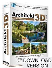 AVANQUEST ESD Architekt 3D X9 Gartendesigner / Deutsch / Win / Online Download