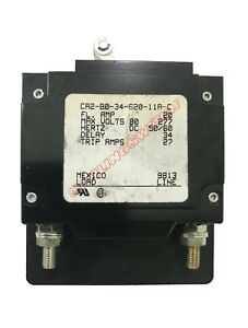 Carlingswitch 20 Amp DC Boat Marine A Frame Double Throw Circuit Breaker - White