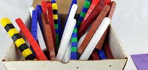 Unifix Counting Cubes Interlocking Education Math Homeschool Box 1000 - 540 Left