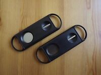 2 Pack 2 in 1 Guillotine & V Cut Cigar Cutter Premium Quality Stainless Steel