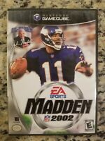 Madden NFL 2002 Nintendo GameCube Video Game Complete EUC FREE S/H
