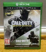 Call of Duty: Infinite Warfare - Legacy Edition (Call of Duty 4) Xbox one MINT