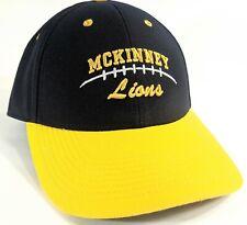 Mckinney Lions Texas Football Hat Nike Baseball Legacy 91 Dri Fit Adjustable Cap