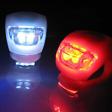 Bike Frog Ultra Bright Light Set 2-LED Front White Light + 2-LED Rear Red Light