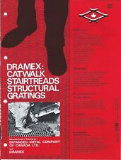 MRO Brochure - Expanded Metal Company Canada - Dramex Grating - c1977 (MR211)