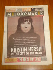 MELODY MAKER 1994 JANUARY 15 KRISTIN HERSH THERAPY SUEDE