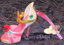 Disney Designer Princess Aurora Sleeping Beauty Doll shoe Ornament New with Tags