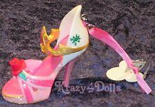 Disney Designer Princess Aurora Sleeping Beauty Doll shoe Ornament New with Tags
