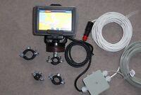 Garmin GPSMAP 620 + Zubehör, Marine-Kartenplotter f. Charter optimiert, TOP/OVP