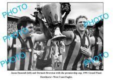 DUNSTALL & BRERETON HAWTHORN FC 1991 PREMIERS A3 PHOTO