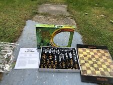 The Lord Of The Rings Fellowship Of The Ring Chess Set Rare 2002 Hasbro