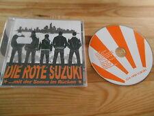 CD Punk Die Rote Suzuki - Mit der Sonne im Rücken (11 Song) KIDNAP REC
