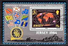 Jersey - 1984 Postal administration congress - Mi. Bl. 3 VFU