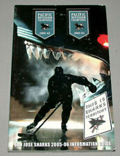 Original NHL 2005-06 San Jose Sharks Official Hockey Media Guide