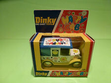 DINKY TOYS 120 HAPPY CAB  - SMILEY 1:43? - RARE SELTEN - NEAR MINT IN BOX