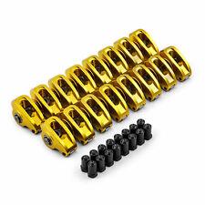 Chevy Sbc 350 16 Ratio 716 Aluminum Roller Rocker Arms Set