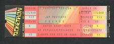 1984 Prince unused concert ticket Purple Rain Rosemont Chicago When Doves Cry