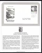 #3910a-l 37c -Modern American Architecture FULL Set of 12 PCS FDCs w/ Info Pages