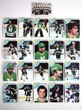 1978-79 Topps lot 21 Minnesota North Stars Maruk Meloche Maxwell Talafous Young